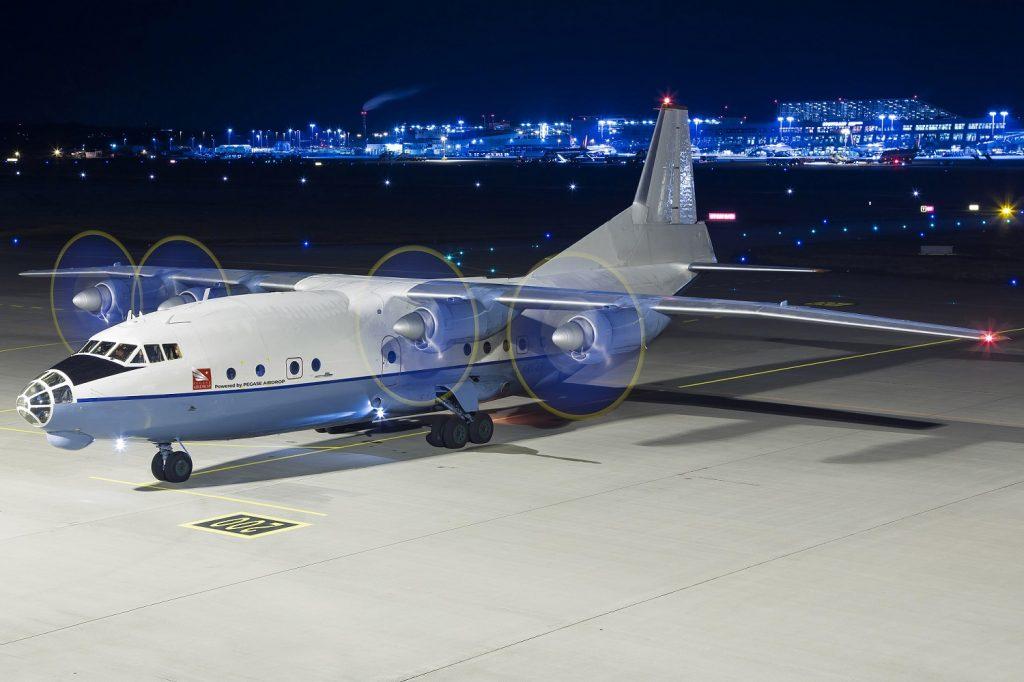 Antonov 12 - Pegase Airdrop