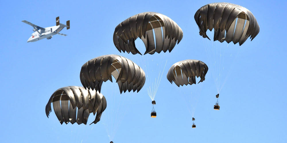 LCLA (Low Cost Low Altitude parachute)